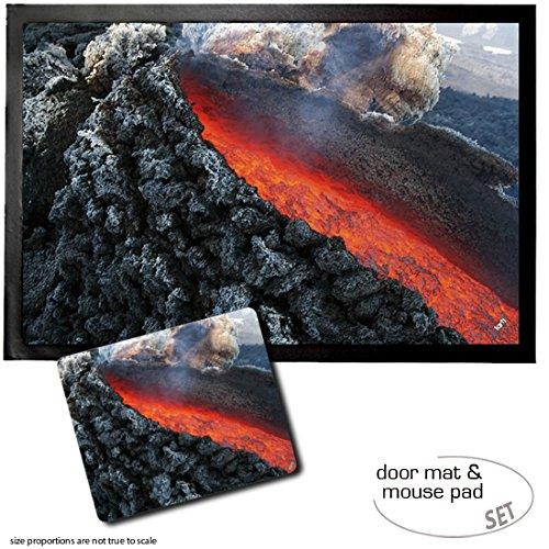 set-1-fumatte-trmatte-60x40-cm-1-mauspad-23x19-cm-vulkane-lavafluss-bei-tna-vulkanausbruch-sizilien