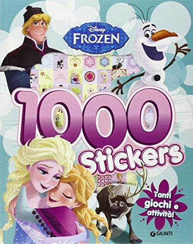 Frozen. 1000 stickers. Con adesivi. Ediz. illustrata