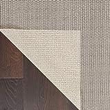 NOURISON Teppich Mondrian Rutschfeste Bereich Teppich Pad, Elfenbeinfarben, 9'15,2cm X 13' 15,2cm