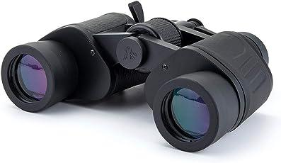Diswa Binocular Outdoor Camping Tourism, Compact for Long Distance with Bag (Black) (Binocular 8-24x40)