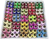 #7: DECCAN 100 Thread Spools (25 Shades, each 4 in no.) ASSORTED SET B