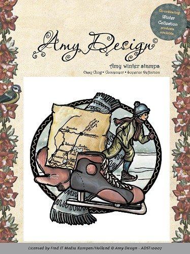 carta-deco-amy-design-schiuma-francobolli-timbro-invernali-10007-ragazzo-di-pattinaggio-ragazzo-sui-