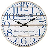 Unbranded Playa Reloj Chozas Pared