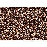 Vlies Fototapete 400x280 cm PREMIUM PLUS HiQ - OEKO-TEX Standard 100 Wand Foto Tapete Wand Bild Vliestapete - Kaffee Kaffeebohnen Braun Aromatisch - no. 0176