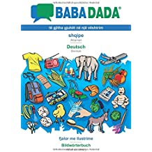 BABADADA, shqipe - Deutsch, fjalor me ilustrime - Bildwörterbuch