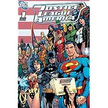 Poster DC Comics Justice League of America Cover Art (61cm x 91,5cm) + un poster surprise en cadeau!