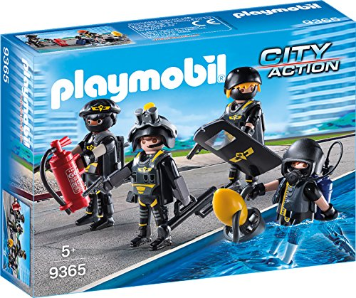 Playmobil 9365 - SEK-Team Spiel (Playmobil-action-figuren)