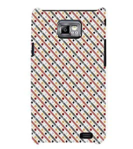TOUCHNER (TN) Star Pattern Back Case Cover for Samsung Galaxy S2::Samsung Galaxy S2 i9100