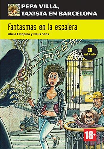 Portada del libro Fantasmas en la escalera. Buch + CD + mp3: Spanische Lektüre für das 1. Lernjahr