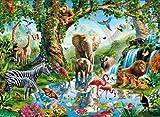 Clementoni - 32543 - Puzzle Classique - Jungle Lake