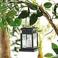 Lunartec Solar-LED-Laterne im asiatischen Design von Lunartec