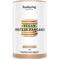foodspring Pancake Proteici Vegani, 480 g, Colazione vegana e senza glutine ricca di proteine, con pochi zuccheri e…