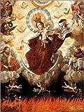 Cuadro sobre lienzo 100 x 130 cm: Madonna of the Carmelites de Gaspar Miguel de Berrio / ARTOTHEK - cuadro terminado, cuadro sobre bastidor, lámina terminada sobre lienzo auténtico, impresión en li...