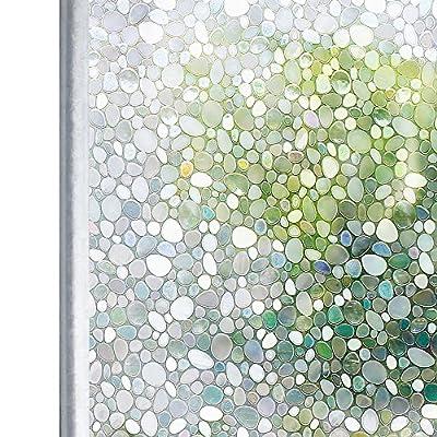 Homein Fenster Folien Spiegelfolie Klebefolie Fensterfolie Für Sichtschutz Tattoo Blickdicht Vintage Haftend von HOMEIN CO.,LTD bei TapetenShop