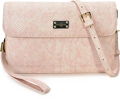 Paul's Boutique Veronica Dusty Pink Clutch PBN126370