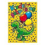 8 Einladungskarten mit Umschlägen Lutz Mauder Dinosaurier Dinos