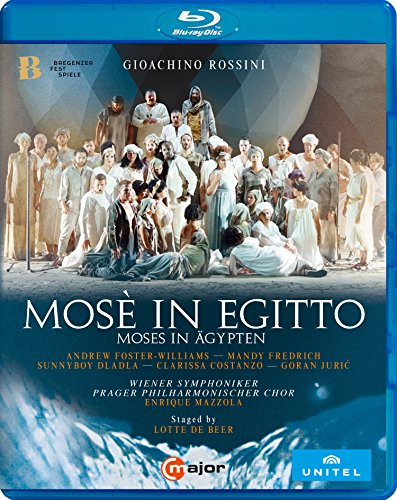 Rossini: Mosé in Egitto (Moses in Ägypten), Bregenz 2017 [Blu-ray]