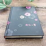 Y1Cheng Notizbuch Exquisite, Den Nationalen Zollbehörden, Alte Lappen, Illustration Folk Stil, Notebook, Schreibwaren, 32K, Student, Tagebuch, Geschenk, Schwarz