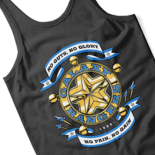 No Guts No Glory The Adventures of the Galaxy Rangers Men's Vest Black