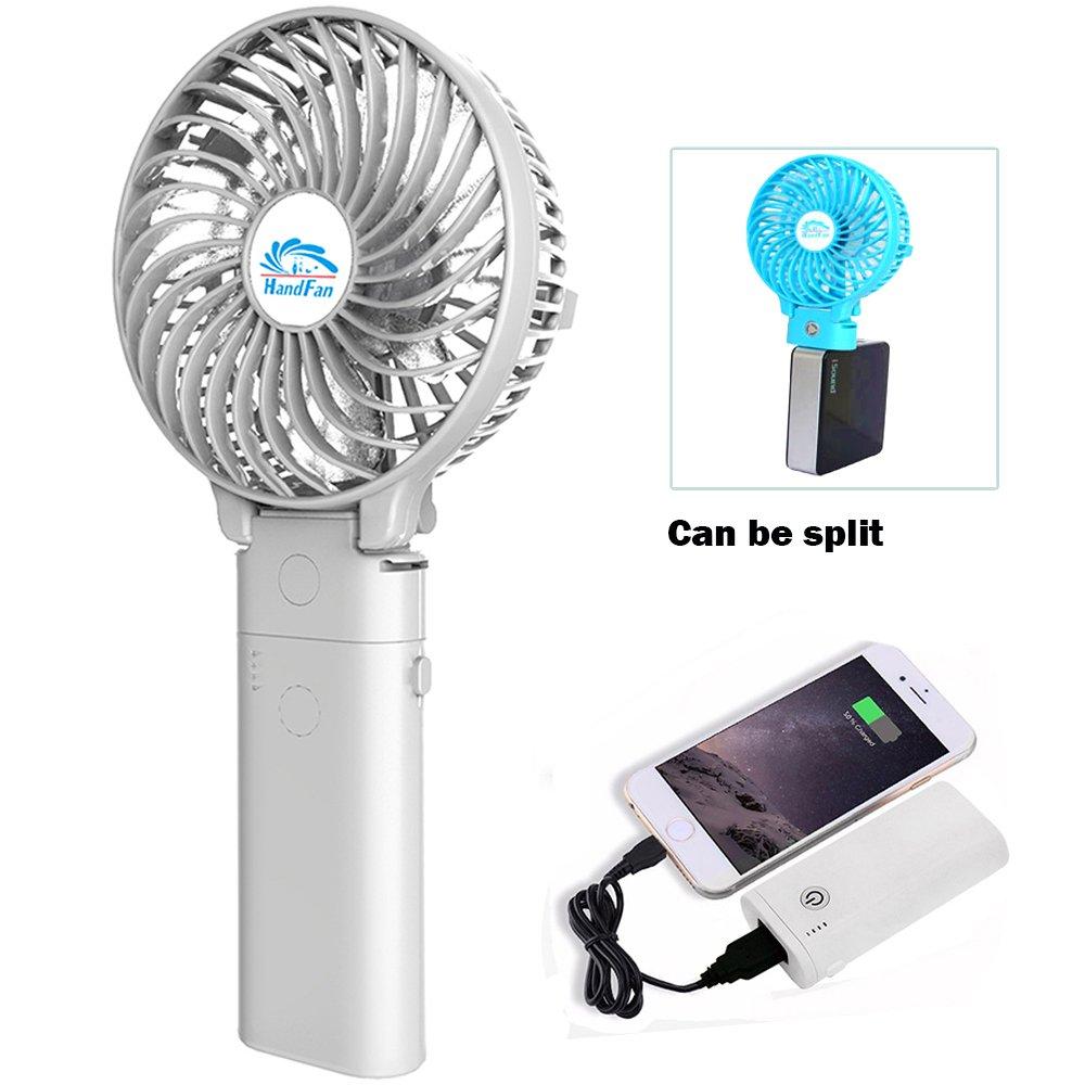 Portatile a batteria pieghevole e Scrivania Ventilatore Mini Portatile Dispositivo Di Raffreddamento a 3 velocità