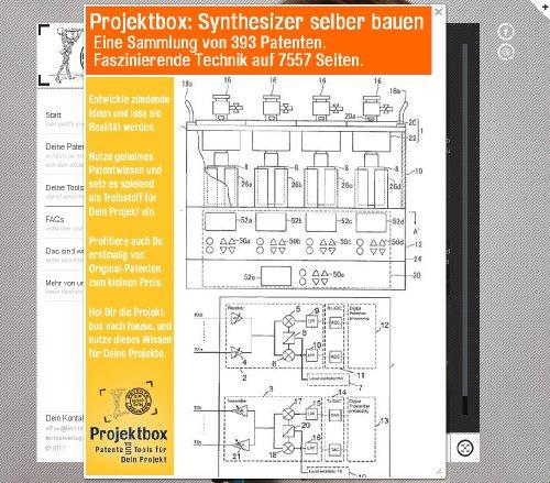 Synthesizer selber bauen: Deine Projektbox inkl. 393 Original-Patenten bringt Dich mit Spaß ans Ziel!