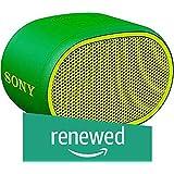 (Renewed) Sony Wireless Speaker SRS-XB01 (Green)