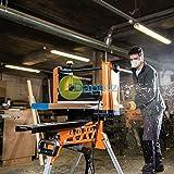 daptez Professionell Hobel Dickenhobel 317mm Holzbearbeitung Workshop Professionelles Werkzeug