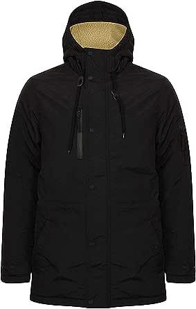 Tokyo Laundry Mens Padded Winter Coat Warm Hooded Jacket