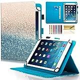 Dteck Schutzhülle für Samsung Galaxy Tablet, Apple iPad, Amazon Kindle, Google Nexus und weitere 16,5-26,7 cm (6,5-10,5 Zoll) Tablet 05 Beach Sand for 6.5-7.5 inch Tablet
