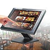 """OBLLER - Cassaforte touch LCD da 15"""" per la vendita al dettaglio con software POS"""