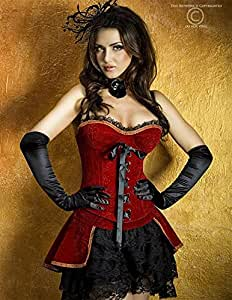 Louis XVI Ensemble Corset Rouge CR3317 - M
