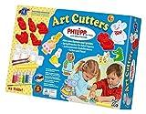 Feuchtmann Spielwaren 6285387 - Philipp die Maus Art Cutters Set, 480 g Modelliermasse und 6 Formen, 22-teilig
