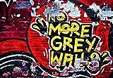 No More Grey Walls 8-teilige Fototapete (366cm x 254cm)