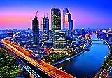 Moscow Twilight 8-teilige Fototapete (366cm x 254cm)
