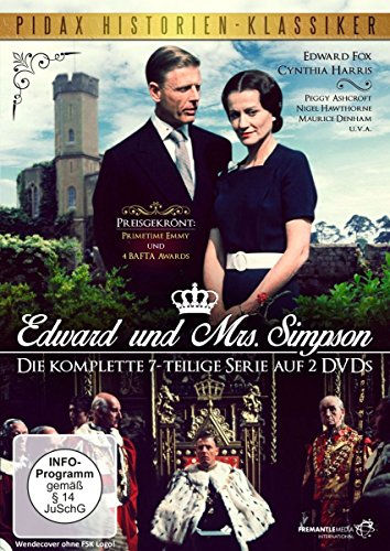 Edward und Mrs. Simpson/Der preisgekrönte 7-Teiler über den englischen Kronprinzen und späteren König Edward VII. (Pidax Historien-Klassiker) [2 DVDs]
