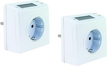 REV Ritter Energiemessgerät kompakt, 2-Stück, weiß, 0025820112