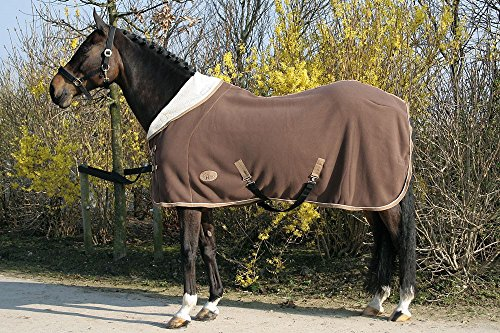 Harry\'s Horse 32200393-03165cm Teddyfleece Decke 1/2 Hals, M, braun
