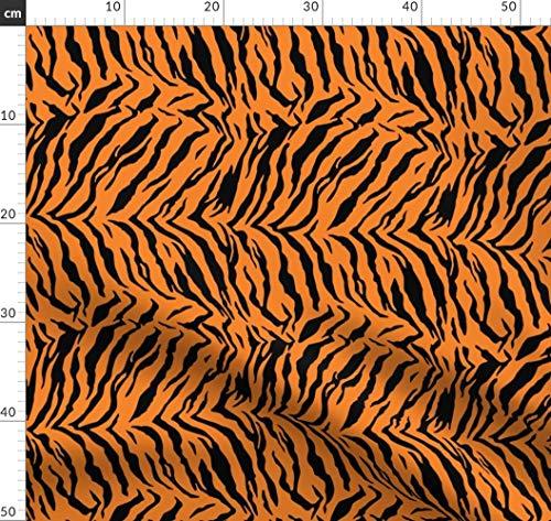 Tiger, Kostüm, Halloween, Kind, Afrika, Safari Stoffe - Individuell Bedruckt von Spoonflower - Design von Furbuddy Gedruckt auf Baumwoll Spandex - Safari Kostüm Halloween