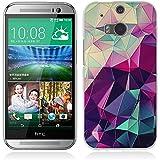 Funda HTC One M8 - Fubaoda - 3D Realzar, Fantasía Patrón, Gel de Silicona TPU, Fina, Flexible, Resistente a los arañazos en su parte trasera, Amortigua los golpes, funda protectora anti-golpes para HTC One M8