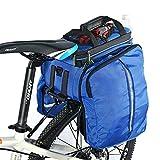 ROCKBROS Radfahren Hinter Satteltasche Praktisch Gepäckträgertasche Fahrradtasche Rahmentasche