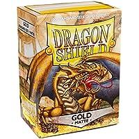 Dragon Shield - Matte Gold - 100 bustine protettive