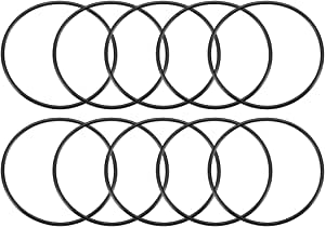 NBR Dichtungsringe Dichtung Gummidichtung O-ring 20x2-90 ShA 30 Pcs O-ringe 20mm x 24mm x 2mm Dichtungen Gummiringe Set O-ringe Sortiment Dichtungssatz Nitrilkautschuk
