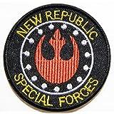"""Sew especial fuerza pública nuevo Star Wars Alianza Rebelde escuadrón rojo Kid chaqueta Imperial Logo camiseta chaleco coser hierro en parche bordado insignia con personalizado regalo tamaño 3""""Ancho x Altura 3"""""""