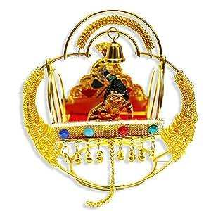 Indigocart Lord Krishana Jhula Palki