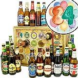 84. Geburtstagsgeschenk | Bieradventskalender mit Bieren aus aller Welt | Geschenke zum 84 Geburtstag Mann Deko | INKL gratis Bierbuch