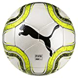 Puma Final 2 Match (FIFA Quality Pro) Fußball, White-Lemon Tonic Black, 5