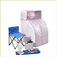 F-JX Home Mobile Mini Steam Sauna, Steam Generator Heat Cabin Seat Portable Sweat Steam Fumigator Simple Sauna Steaming Room
