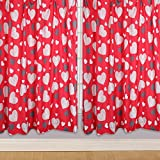 Character World 54-inch One Direction Boyfriend Curtains