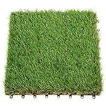 Anmas Box Decoración Jardín Falsos Sintético Césped Artificial Astro Paisaje Hierba Césped - 1 unidad, B Style-Thickness:40mm