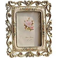 Giftgarden® Cornici per Foto con Applicazioni Floreali